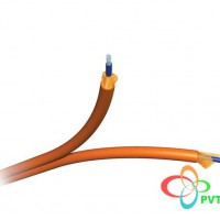 AMP Fiber Optic Cable, Interconnect, 2-Fiber (Zipcord), SM-OS2, 3.0mm, OFNR