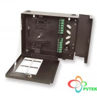 AMP Fiber Optic Wall Mount Patch Enclosure (SC)