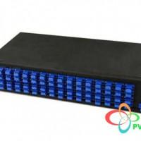 AMP Fiber Optic Rack Mount Patch Enclosure, 1U, Duplex SC, 24-Fiber, SM