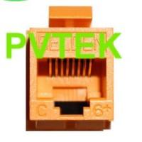 """AX101320"" Nhân mạng chuẩn Cat6+ AX101320  Modular Connectors CAT6+ Modular Jack - KeyConnect"
