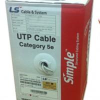 Cáp mạng LS Cat5e UTP (UTP-E-C5G-E1VN-M 0.5X004P/xx)