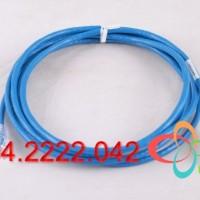 (NK6PC1MBUY) Dây nhảy Panduit cat6  UTP Copper Patch Cord, Cat 6, Blue, 1m