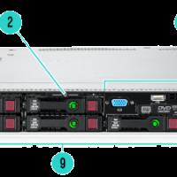 Máy chủ HP ProLiant DL360 G9 SFF E5-2603v4